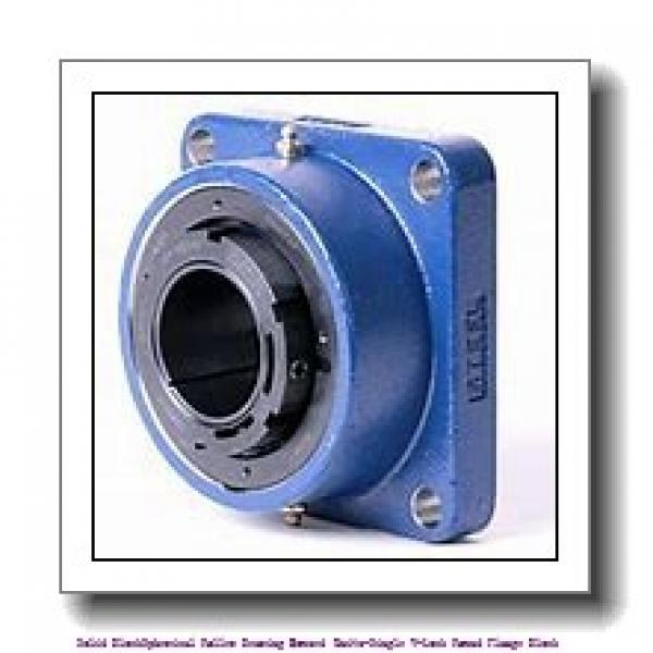 timken QVCW19V303S Solid Block/Spherical Roller Bearing Housed Units-Single V-Lock Piloted Flange Cartridge #1 image