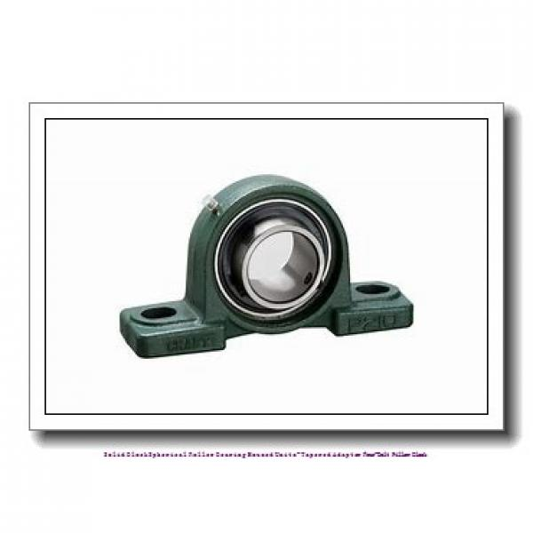 timken TAPK26K407S Solid Block/Spherical Roller Bearing Housed Units-Tapered Adapter Four-Bolt Pillow Block #1 image
